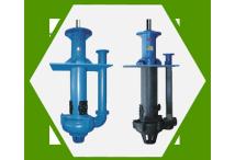 Vertical sump slurry pumps