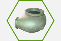 High chrome sand pump casing