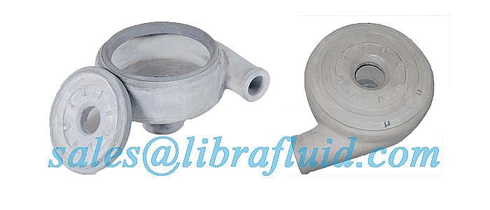 Ceramic slurry pump liner