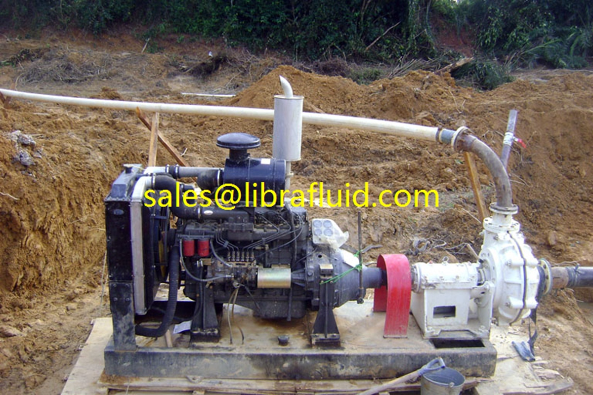 High head slurry pump for mine dewatering