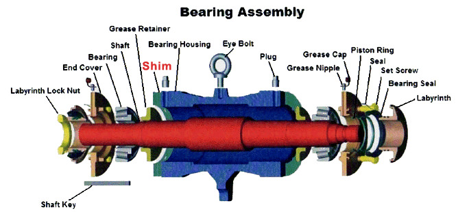 Shim in Bearing assembly