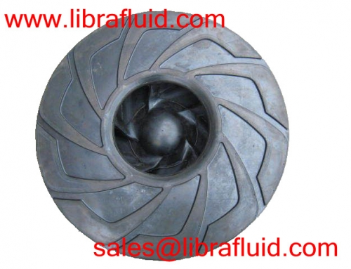 Working life of slurry pump wet parts