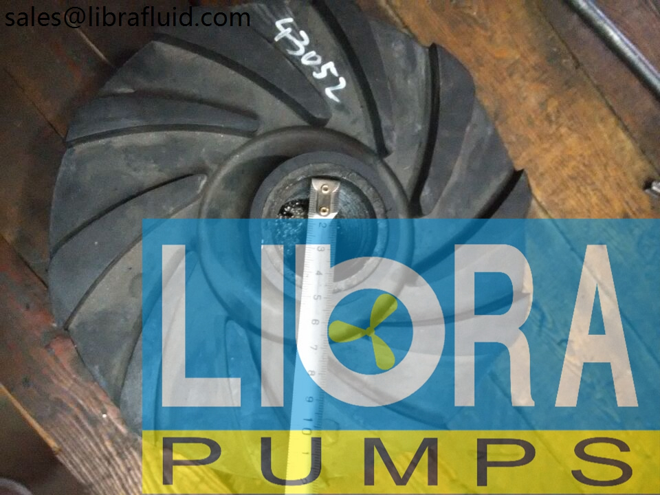 4-3C-SC RUBBER SLURRY PUMP IMPELLER (3)