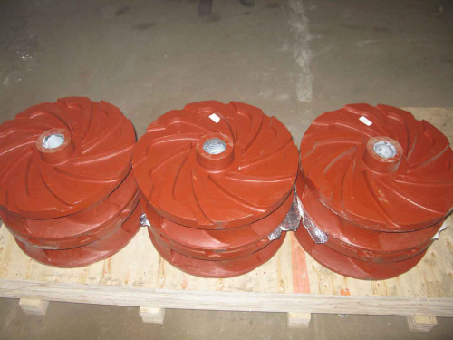 High chrome slurry pump impeller under packing