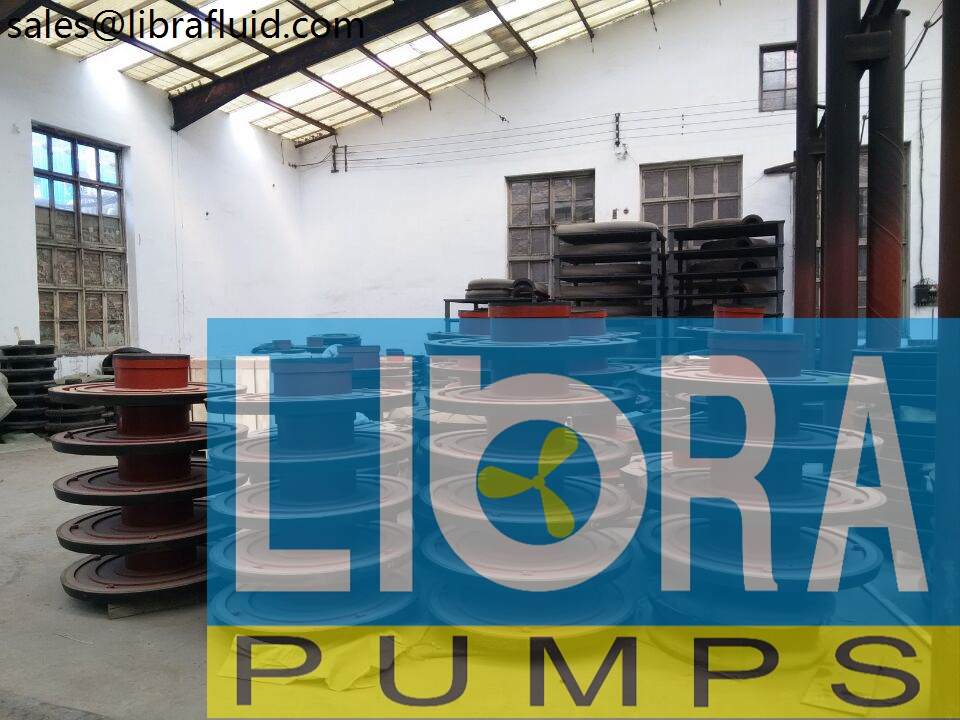 Rubber slurry pumps spare parts in stock (1)