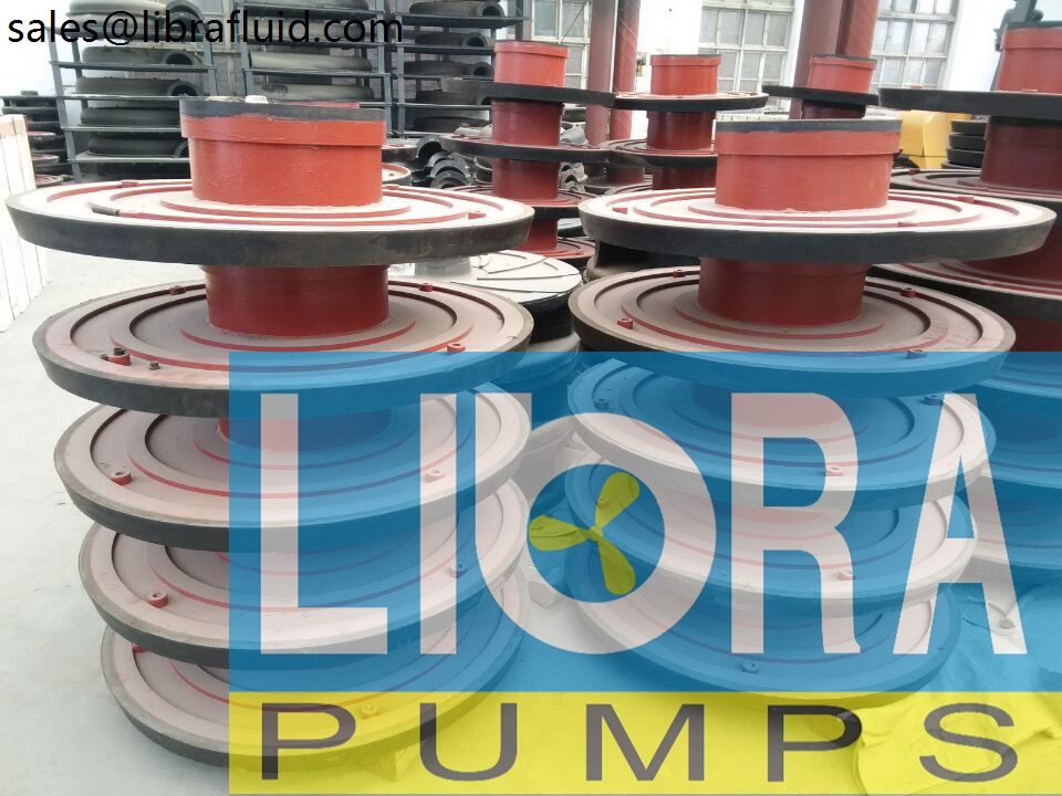 Rubber slurry pumps spare parts in stock (3)