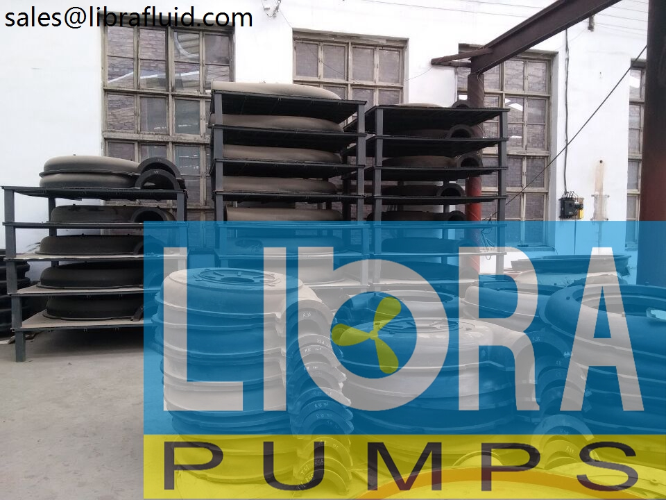 Rubber slurry pumps spare parts in stock (4)