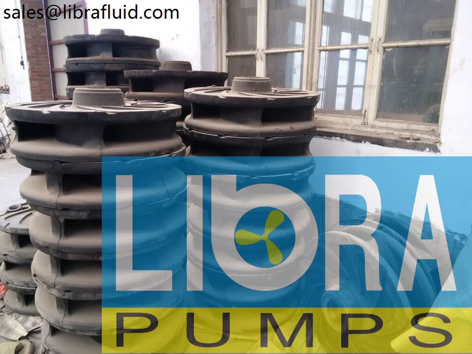Rubber slurry pumps spare parts in stock (5)