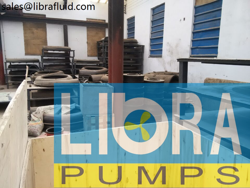 Rubber slurry pumps spare parts in stock (7)