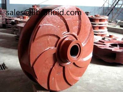 AH slurry pump impeller