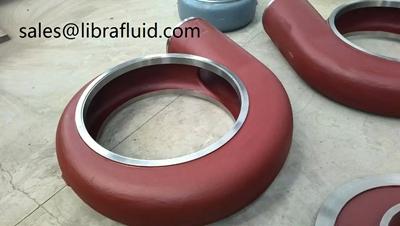 AH slurry pump liner