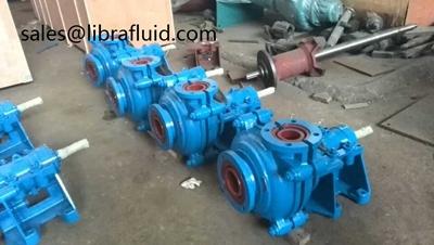 AH slurry pumps