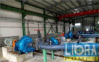 slurry pumps in series in iron mine