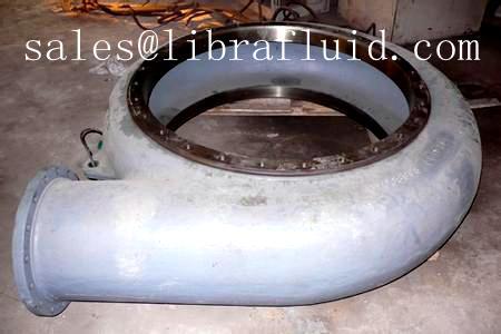 Slurry pump volute liner casing