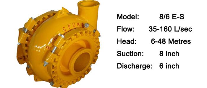 8/6 sand gravel pump