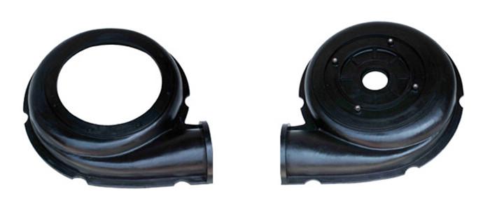 Rubber slurry pump liner