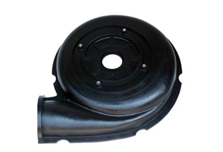 Rubber slurry pump frame plate liner