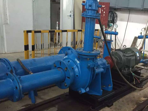 Slurry Pump under Test
