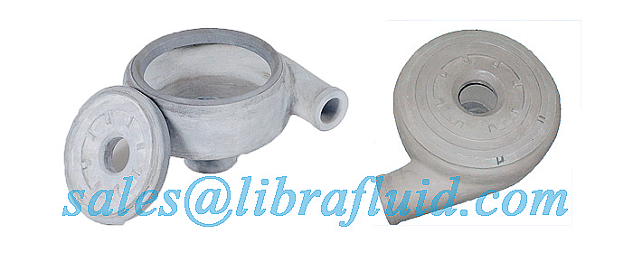 Ceramic slurry pump liner