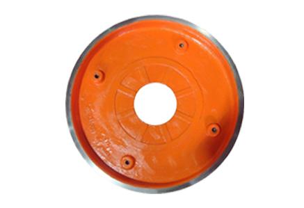 Sand pump frame plate liner insert