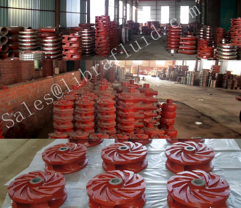 slurry pump parts stocks