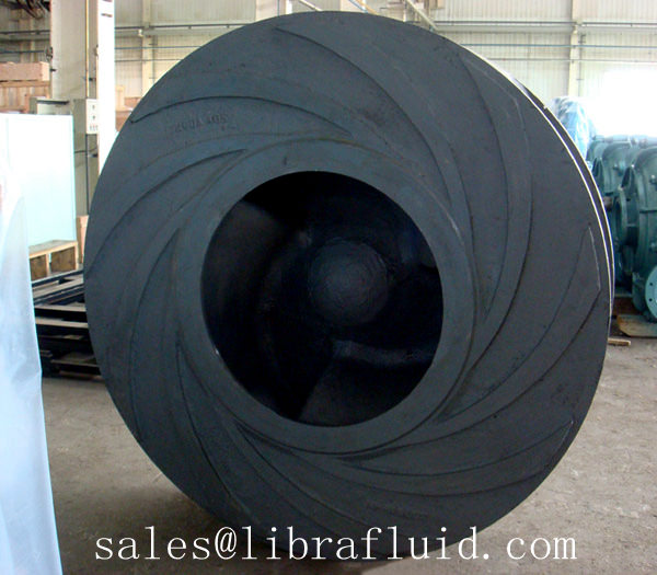 Dredge pump impeller