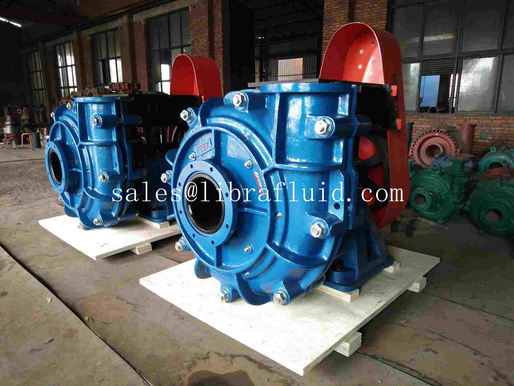 12x10 rubber pumps send to client