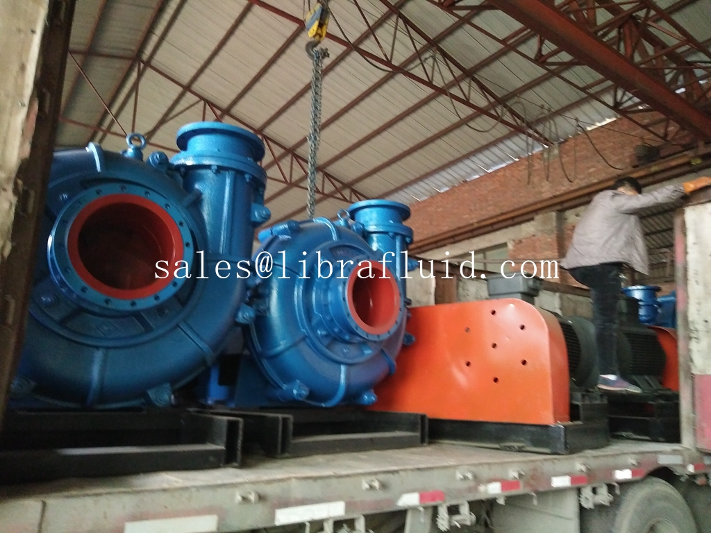 6 units slurry pumps delivery to mine
