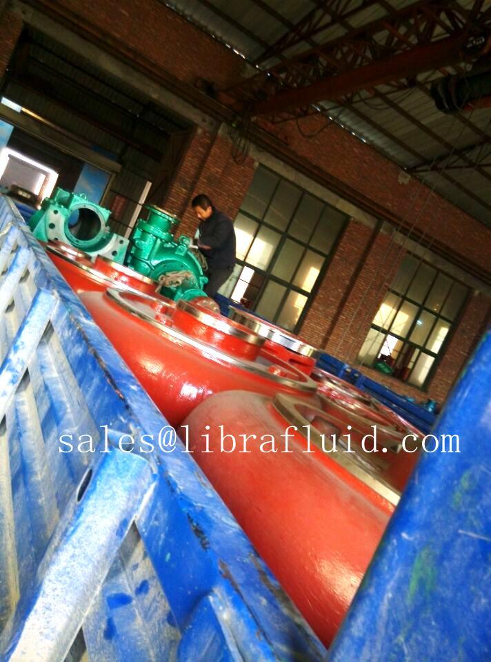 Slurry pump volute liner