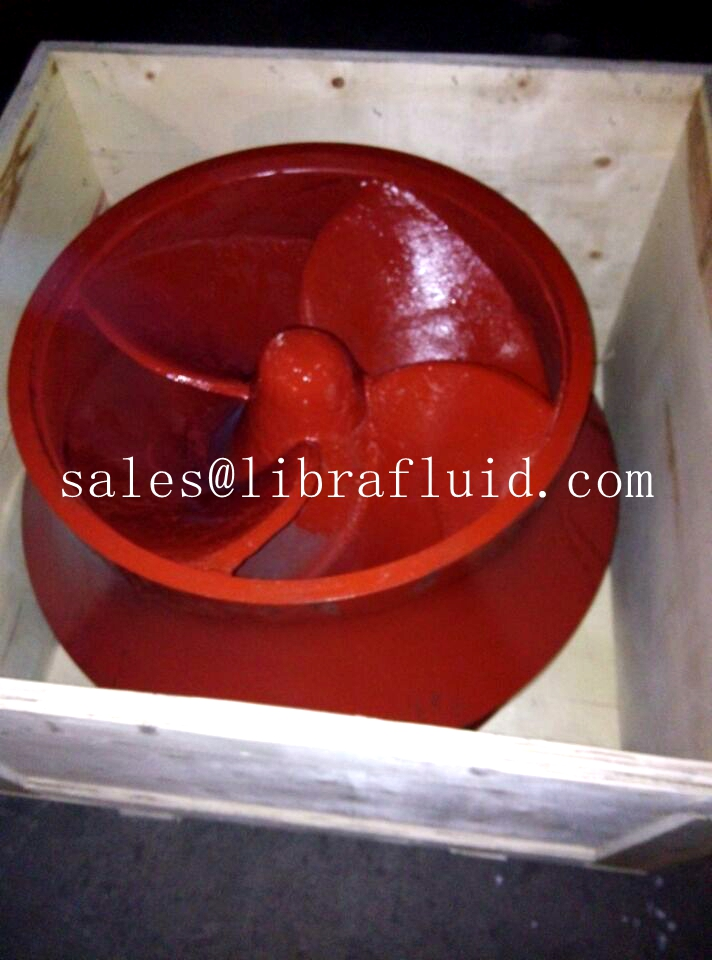 Desulphurization pump impeller out of factory
