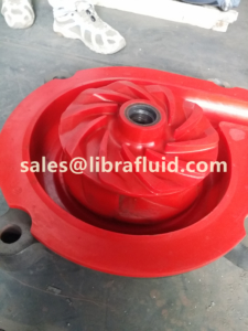 Polyurethane slurry pump impeller and liner