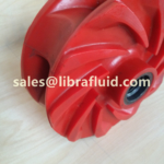 Polyurethane slurry pump impeller