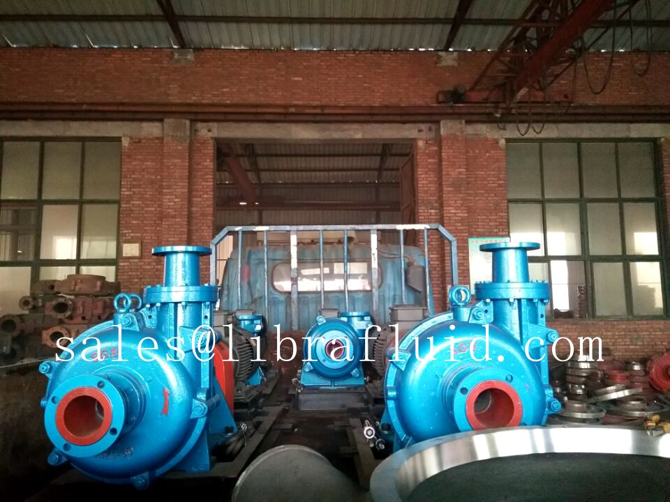 Copper mine slurry pump