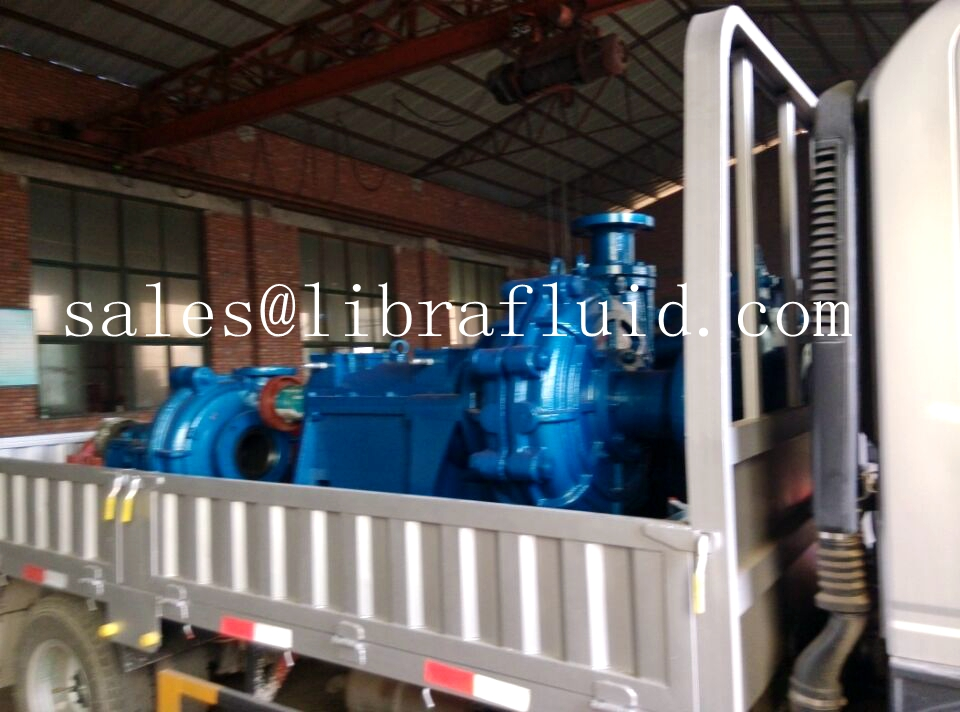 High head slurry pump send to coal mine