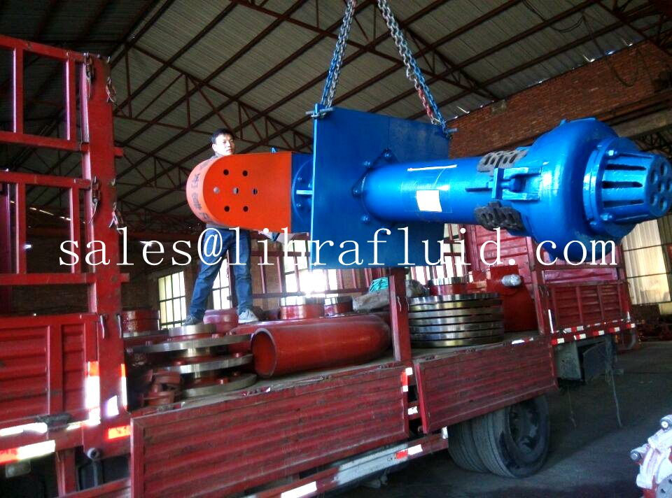Vertical slurry pump and slurry pump parts send to mine (2)