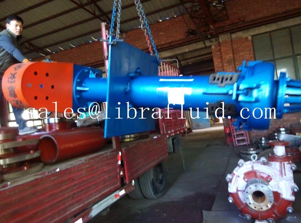 Vertical slurry pump and slurry pump parts send to mine (3)