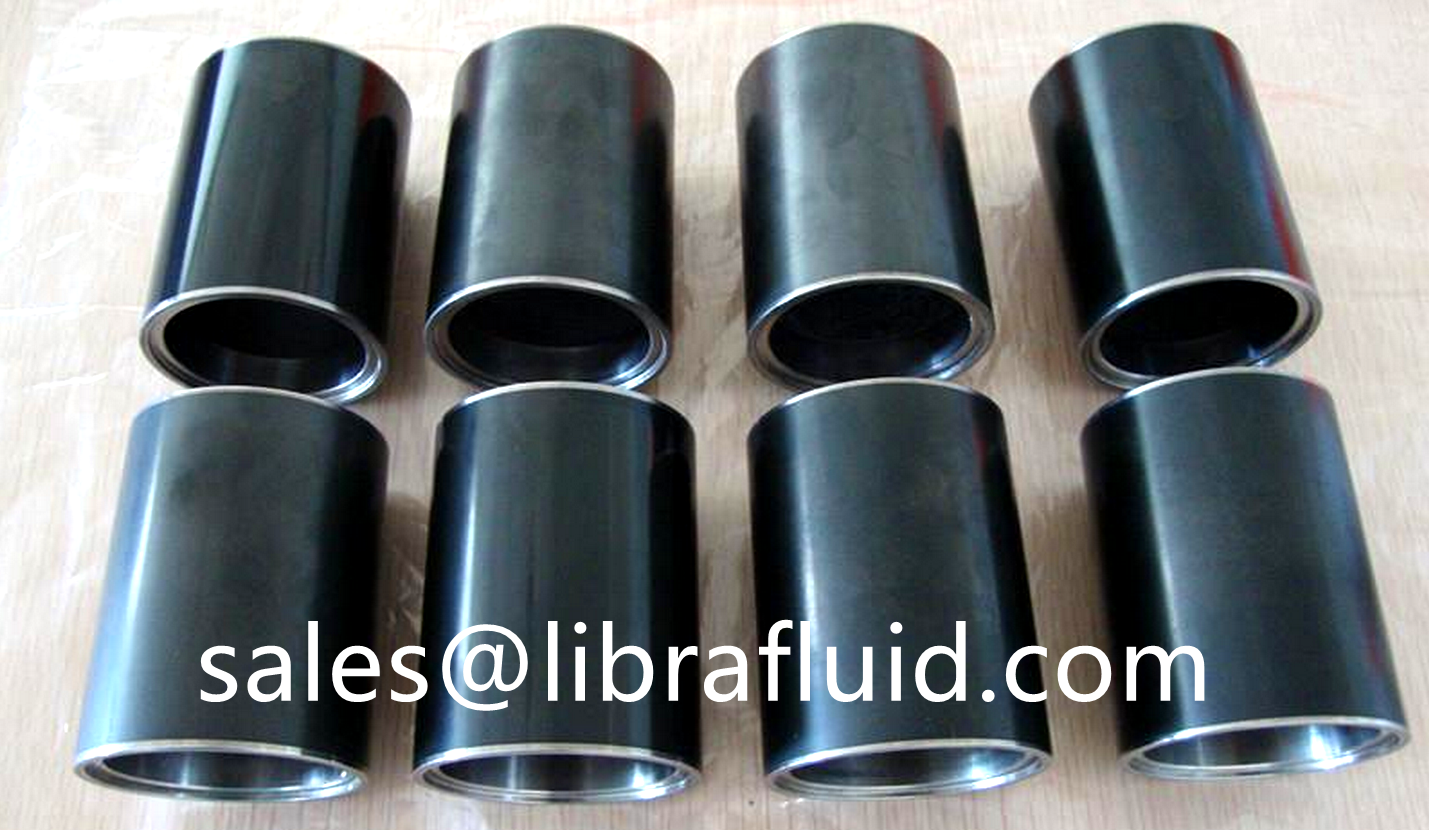 Ceramic coated slurry pump shaft sleeve