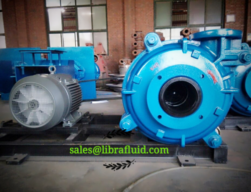 6/4D Slurry Pump assembly for client