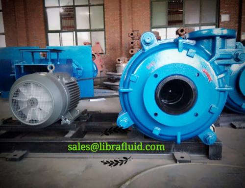 6/4D Slurry Pump assembly for client