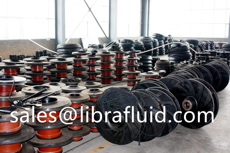 rubber spares for slurry pump