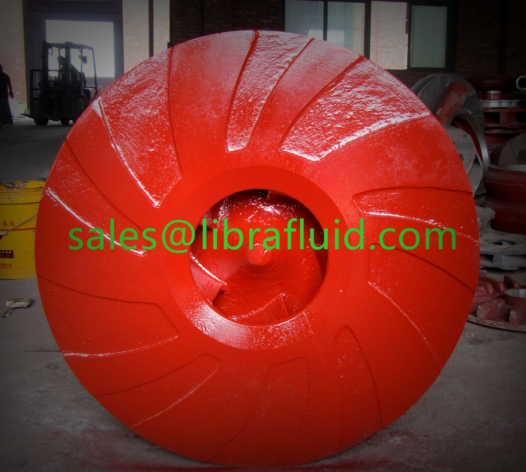 High chrome slurry pump impeller ready for delivery