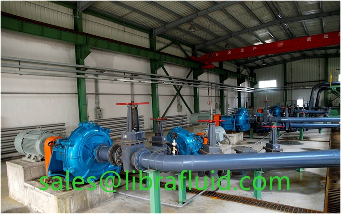 concentrate pulp transport pump