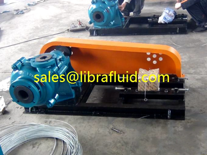 3x2 rubber Slurry pumps