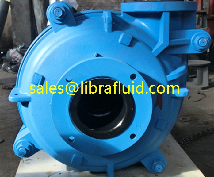 Libra 6x4D rubber slurry pump