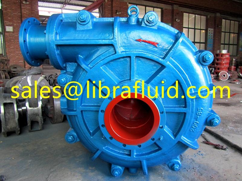 8 inch heavy duty slurry pump