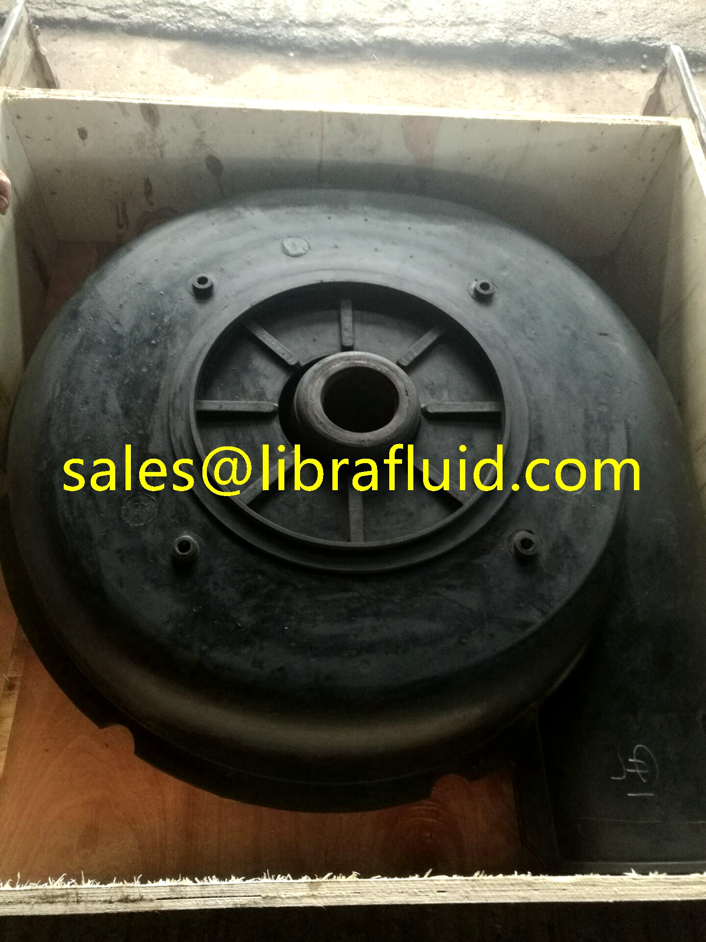 Hypalon impeller and liner to replace 12/10ST-AH Slurry pump