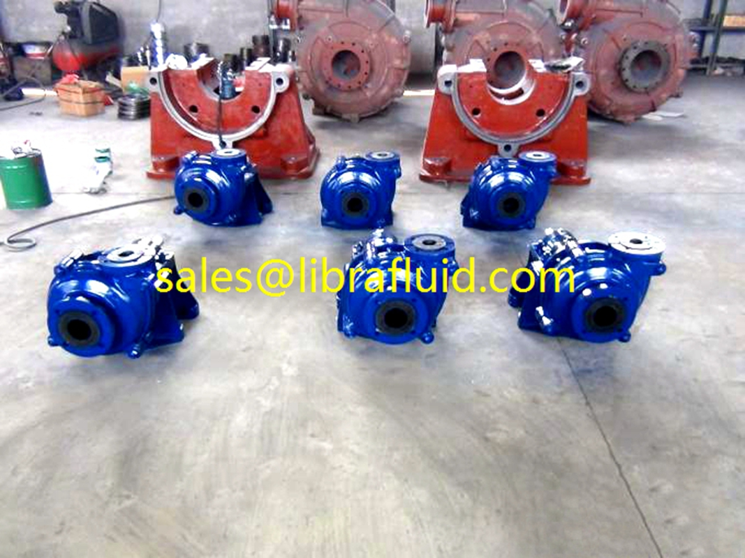 3x2 rubber lined slurry pump