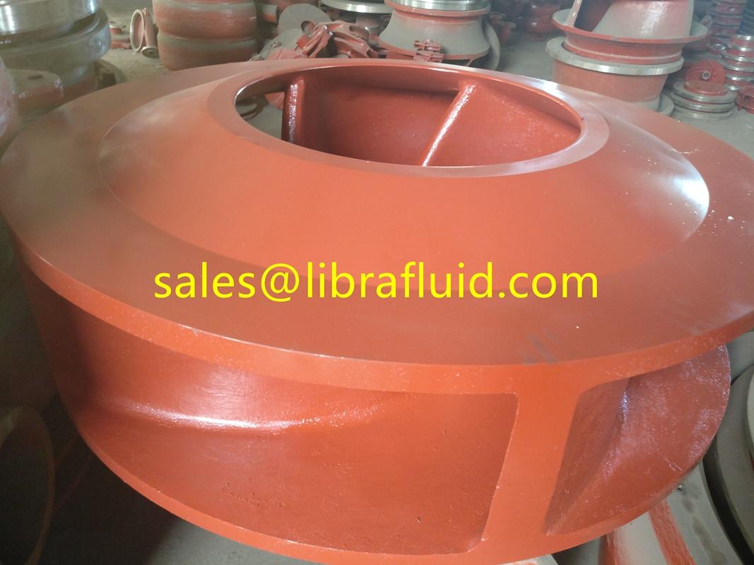 Dredge pump impeller