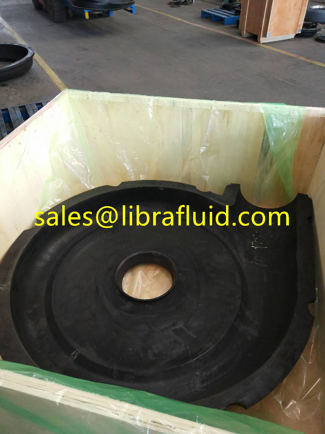 Rubber replacement spares for 12x10 AHR Pump