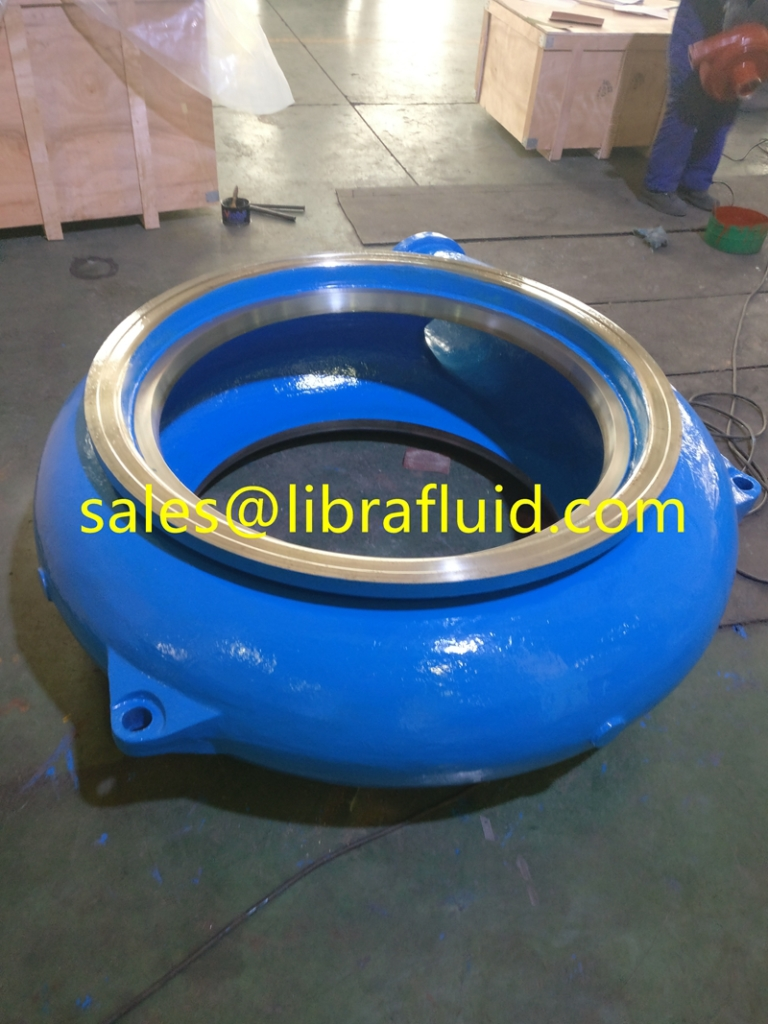 high chrome sand pump casing